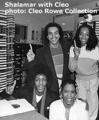 Shalamar with Cleo Rowe